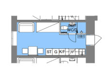 Befintlig lägenhet 0927, Souterrängplan